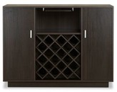 Pyatt Wooden Bar Cabinet Ebern Designs