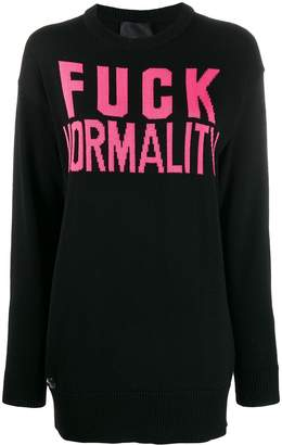 Philipp Plein Statement pullover sweatshirt