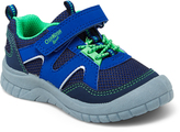 Osh Kosh Navy Blue & Neon Green Grapple Sneaker