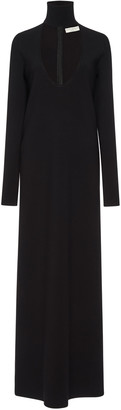 Bottega Veneta Wool-Blend Maxi Dress