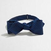 J.Crew Factory Silk dot bow tie