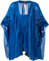 Roberto Cavalli pleated tunic - women - Silk - 40