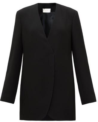 The Row Liza Longline Wrap Jacket - Black