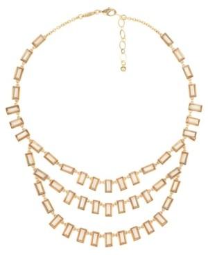 Trifari Gold-Tone Statement Necklace
