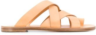 Jil Sander Multi-Strap Sandals