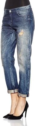 Seven7 Women's Ricky Boyfriend Jeans