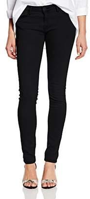 Cross Women's Adriana Skinny Jeans, (Black), 27W x 32L