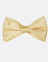 Plain Bow Tie - Gold