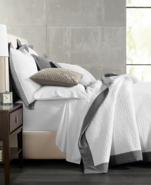 Hotel Collection Closeout! Voile Quilted Full/Queen Coverlet, Created for Macy's Bedding