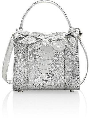 Nancy Gonzalez Lily Ostritch & Elaphe Top Handle Bag
