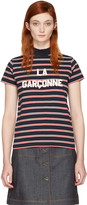 Harmony Navy Striped la Garçonne T-shirt