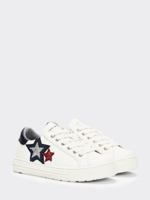 Tommy Hilfiger Star Applique Low-Top Trainers