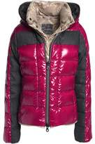 Duvetica Panelled Quilted Shell Down Coat