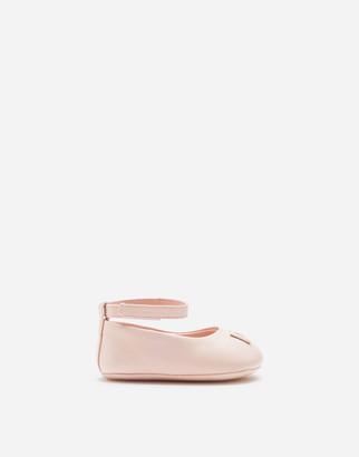 Dolce & Gabbana Nappa Ballet Flats With Ankle Strap