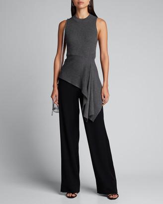 3.1 Phillip Lim Sleeveless Metallic Sweater w/ Tie