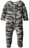 Mud Pie Camo Print Long Sleeve Footed Sleeper Boy's Jumpsuit & Rompers One Piece