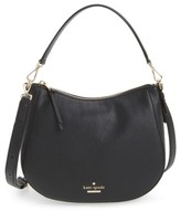 Kate Spade Jackson Street Small Mylie Leather Hobo - Black