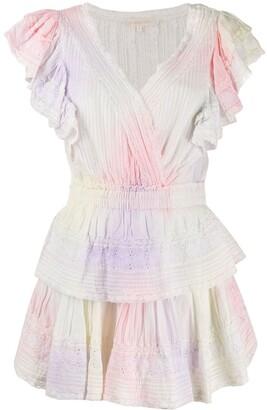 LoveShackFancy Tiered Ruffle Mini Dress