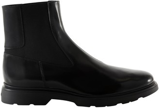 Hogan Side Panel Ankle Boots