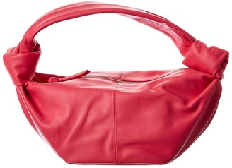 Bottega Veneta Mini Leather Hobo Bag