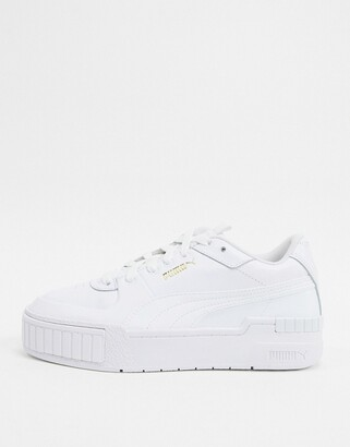 puma womens trainers white