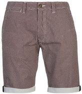Soul Cal SoulCal Mens Deluxe Geo Shorts Pants Trousers Bottoms Cotton Zip Belt Loops