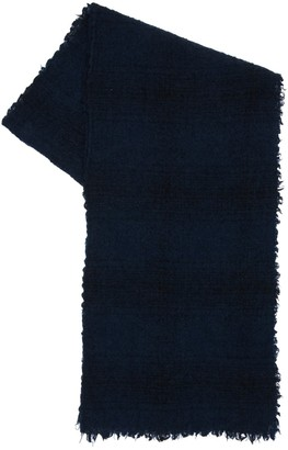 Faliero Sarti Milly Checked Virgin Wool Scarf