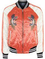 Petite pastel tokyo bomber jacket