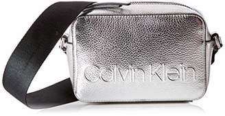 Calvin Klein Edged Camera Bag Met, Women's Cross-Body Bag,7x12x18 cm (B x H T)