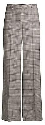 Lafayette 148 New York Women's Dalton Houndstooth Wide-Leg Pants