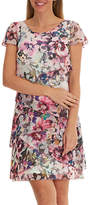 Betty Barclay Floral Print Chiffon Dress, Multi