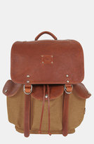 Will Leather Goods Men's 'Lennon' Backpack - Beige