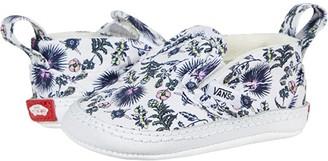 Vans Kids Slip-On V Crib (Infant/Toddler) ((Paradise Floral) True White/True White) Girl's Shoes