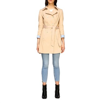 Liu Jo Double-breasted Trench Coat With Belt