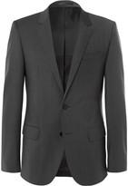 Hugo Boss - Grey Hayes Slim-fit Virgin Wool-blend Suit Jacket