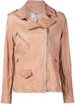 Giorgio Brato biker jacket - women - Leather - 48