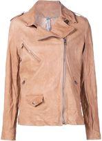 Giorgio Brato biker jacket - women - Leather - 48