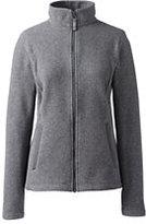 Classic Women's Petite 200 Everyday Fleece Jacket-Black