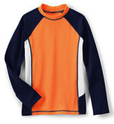 Classic Toddler Boys Colorblock Rash Guard-Deep Sea