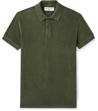 Orlebar Brown + 007 Ryder Cotton-Terry Polo Shirt
