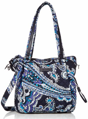 Vera Bradley Women's Signature Cotton Mini Glenna Satchel Crossbody Purse