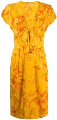 A.N.G.E.L.O. Vintage Cult 1980s Tropical Print Dress