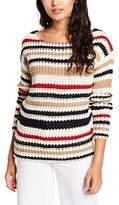 Blend of America Women's Stina Pu Jumper,EU Size 38 (Manufacturer's Size: M)