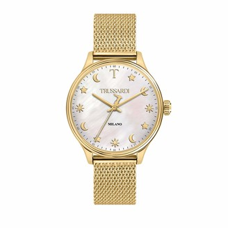 Trussardi Womens Analogue Quartz Watch with Stainless Steel Strap R2453130506