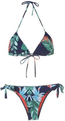 BRIGITTE Tati e Julia printed bikini set