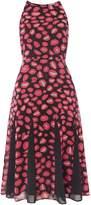 Issa Hattie Printed Godet Dress