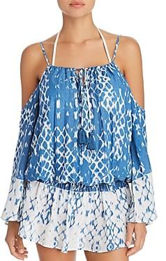 Surf.Gypsy Cold Shoulder Dress Swim Cover-Up