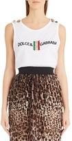 Dolce & Gabbana Women's True Copy Italian Flag Tank