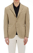 Boglioli MEN'S CANVAS SPORTCOAT-TAN SIZE 50
