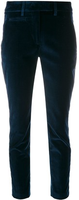 Dondup velvet cropped trousers